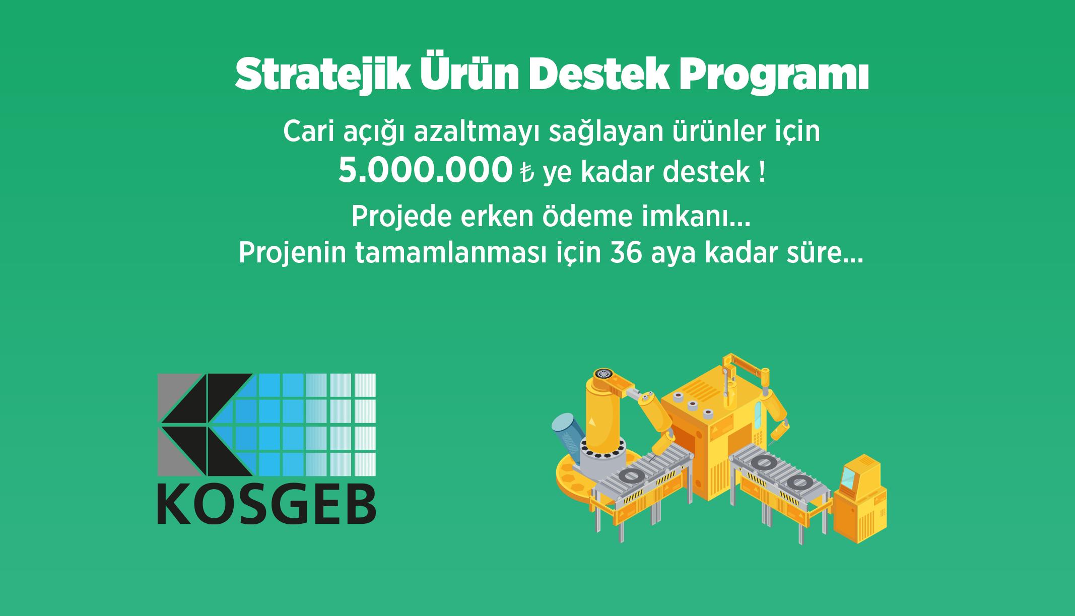 Stratejik Ürün Destek Programı