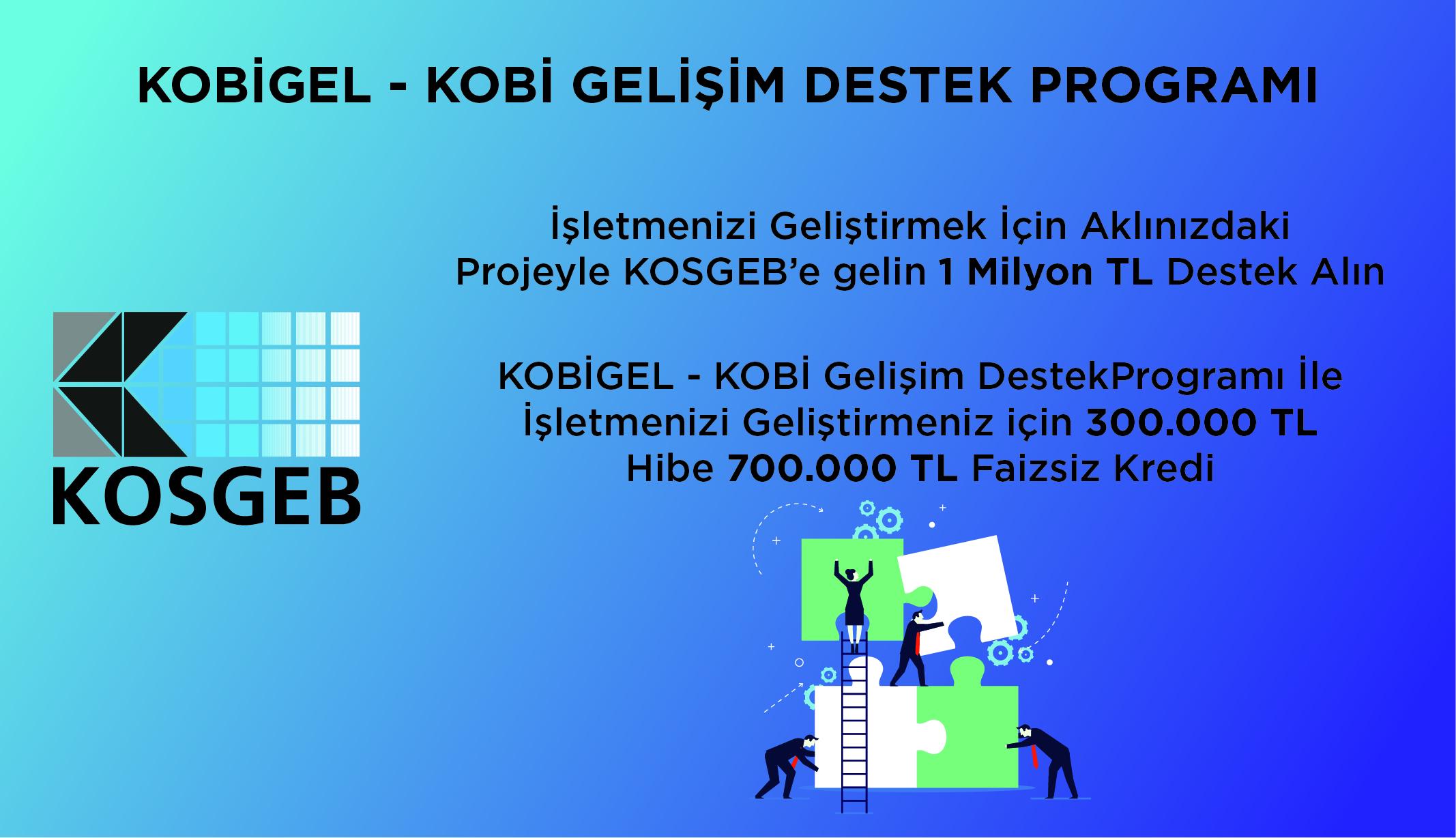 KOBİGEL - KOBİ Gelişim Destek Programı